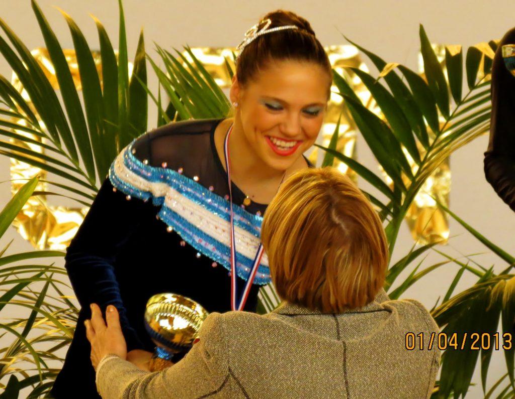 Nadia Ortiz Villar competirá en París nuevamente.