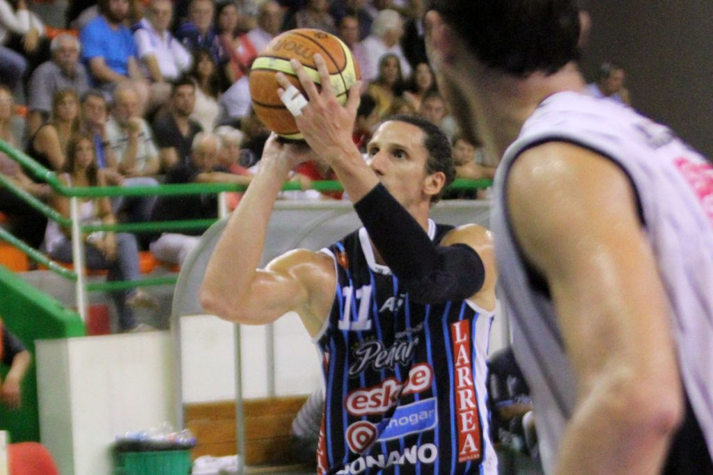 Martín Leiva fue clave para el triunfo de Peñarol. (Foto: Carlos De Vita)