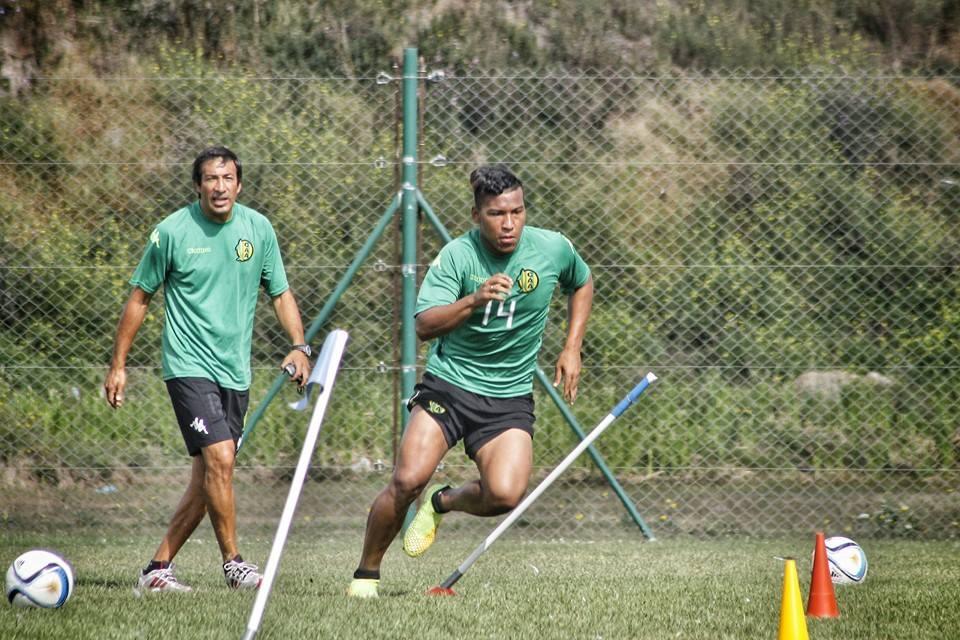 El colombiano Roger Martínez pide pista y tendrá su oportunidad. (Foto: Sergio Biale)