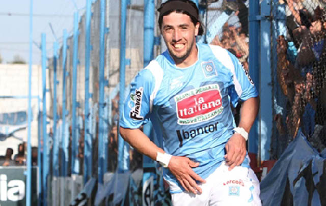 Guillermo Tambussi, el último en llegar a Alvarado.