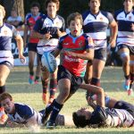Braian Zar atravesando rivales. (Foto: Prensa URMDP)
