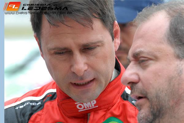 El marplatense Christian Ledesma deberá trabajar para mejorar el rendimiento de su auto.