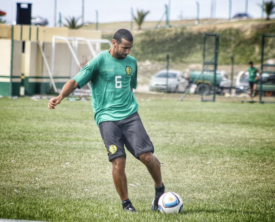 Federico León en el desarrollo del entrenamiento. (Foto: Sergio Biale)