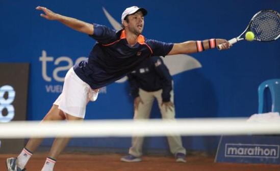 El marplatense Horacio Zeballos ganó en primera ronda.