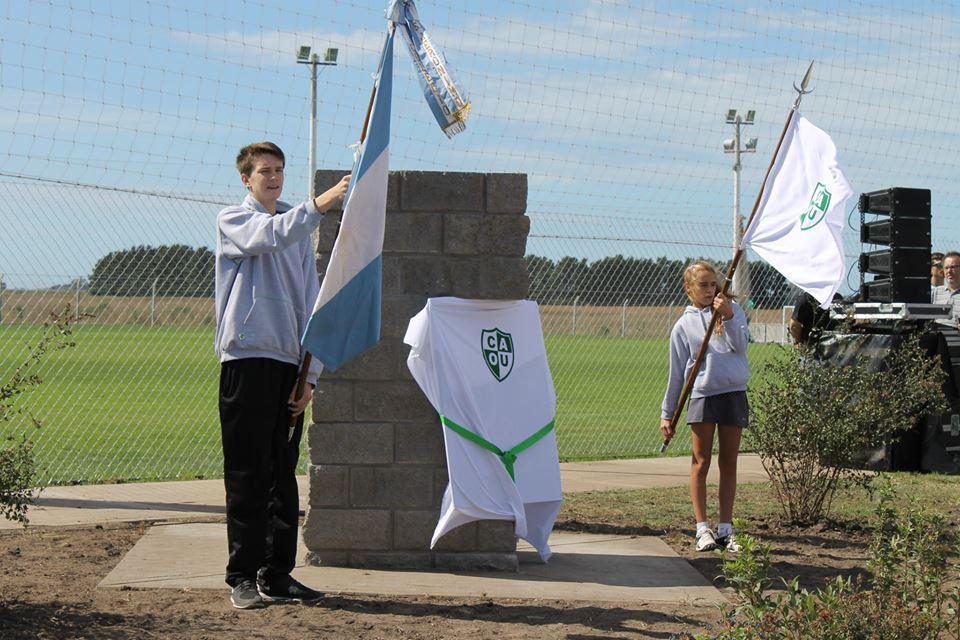 Inauguración de la Villa Deportiva de Once Unidos.