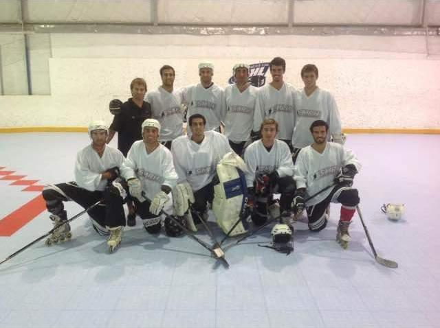 El equipo de Mar del Plata que se presentó en la Mission Cup.
