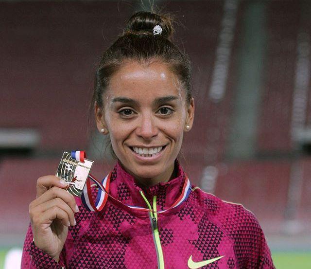 María de los Ángeles Peralta logró dos medallas de oro en Chile.