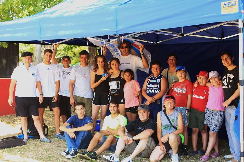 La delegación marplatense que participó en el Provincial de Maraton.