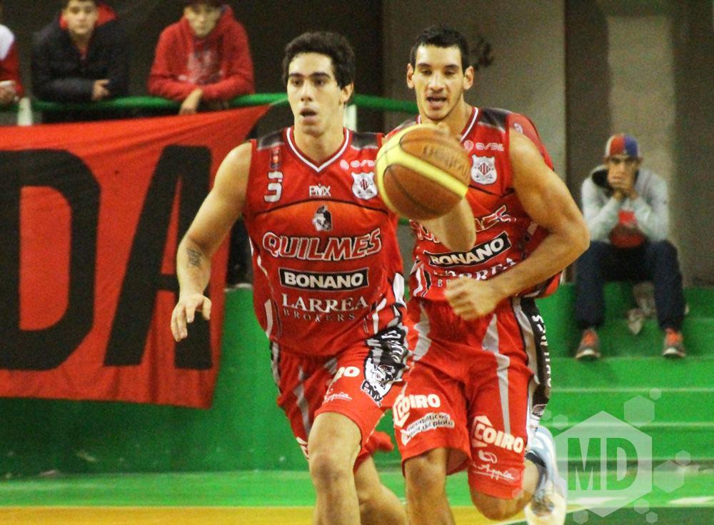 Luca Vildoza anotó 30 puntos, la marca más alta de su carrera. (Foto: Carlos De Vita)