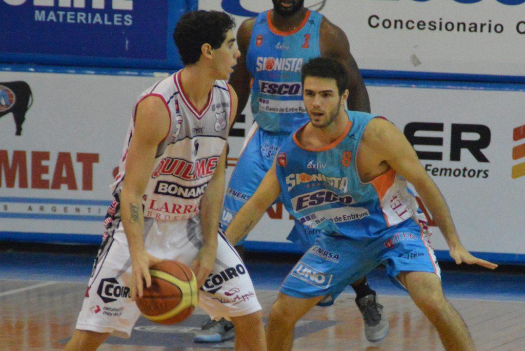 Luca Vildoza, nuevamente fue importante mientras estuvo en cancha. (Foto: LNB)
