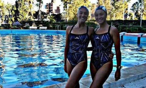 Las hermanas Zoe y Morena Ferrer.