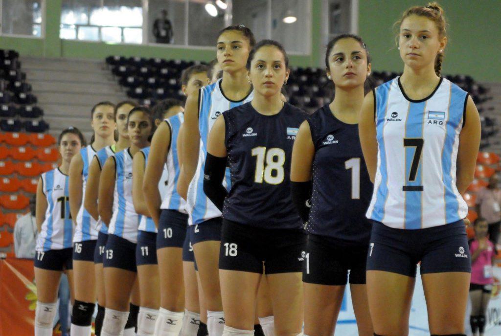 Azul Benítez encabeza la fila de jugadoras en el Sub-20.