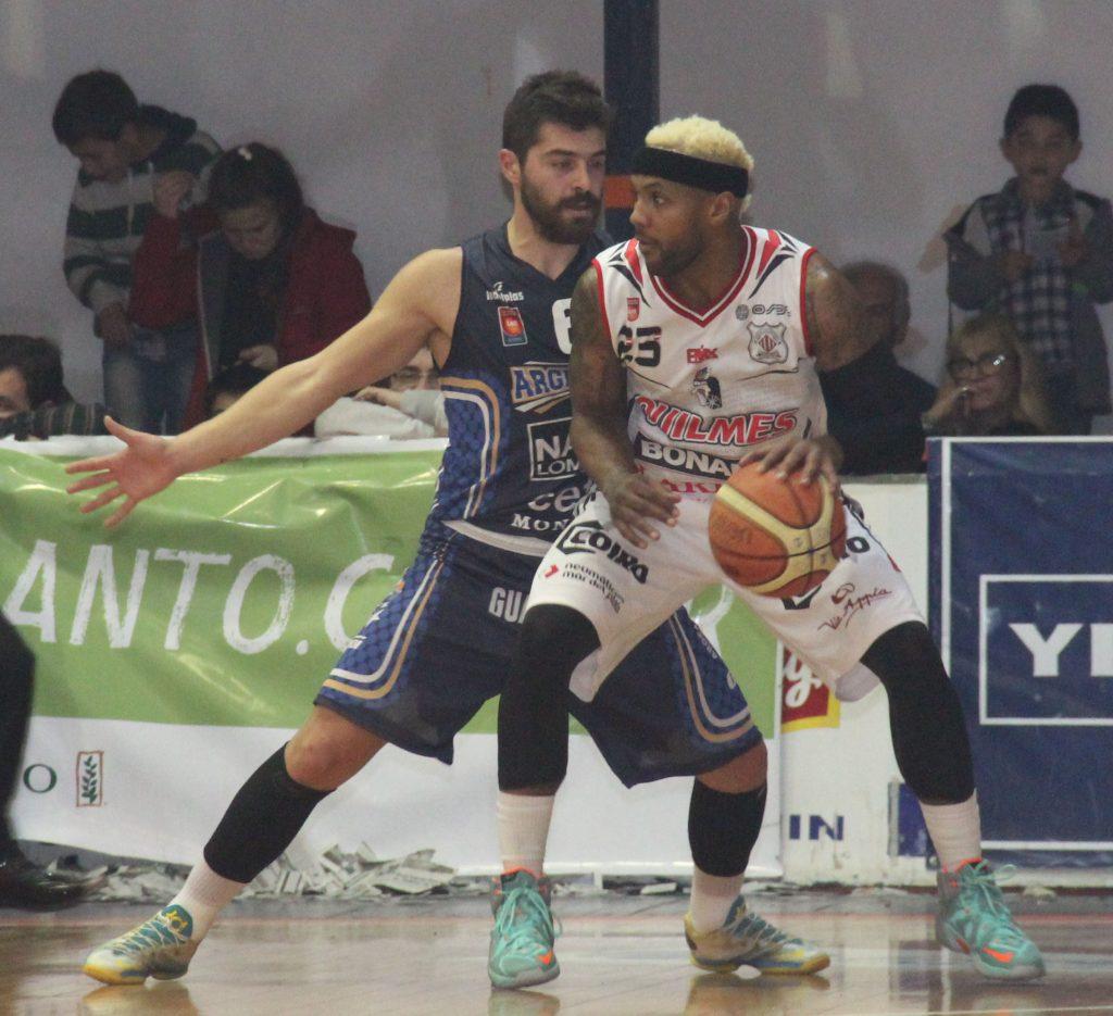 Baxley y Balbi, dos de las claves del juego. (Foto: Paola Milanovich - LNB.com.ar)