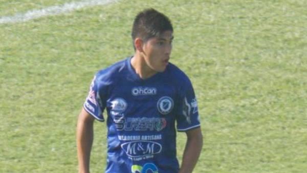 Emanuel Ortega, jugador de San Martín de Burzaco que falleció esta madrugada.