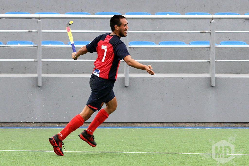 Rodrigo Torres anotó uno de los goles para MDQ 06 Hockey Club. (Foto: Carlos De Vita)