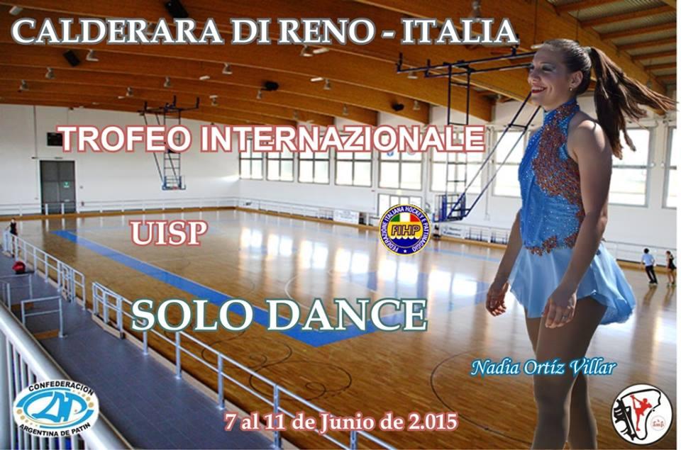 Nadia Ortiz Villar será una de las representantes argentinas en Italia.
