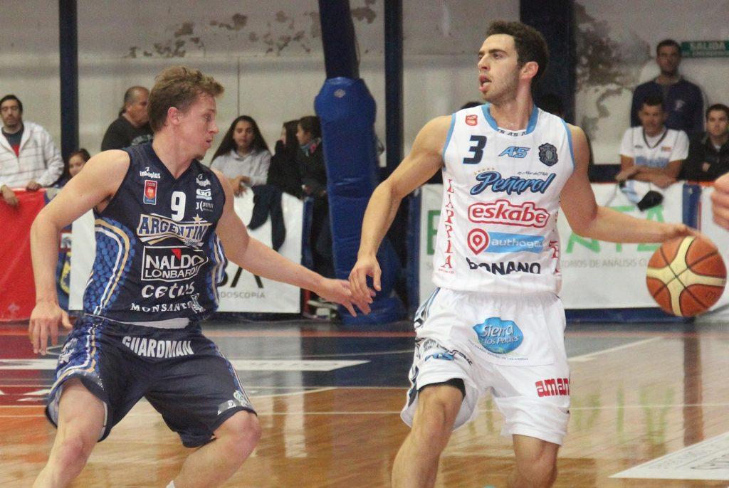 Alejandro Konsztadt no fue titular, pero tuvo un buen ingreso en el primer tiempo. (Foto: Paola Millanovich - LNB.com.ar)