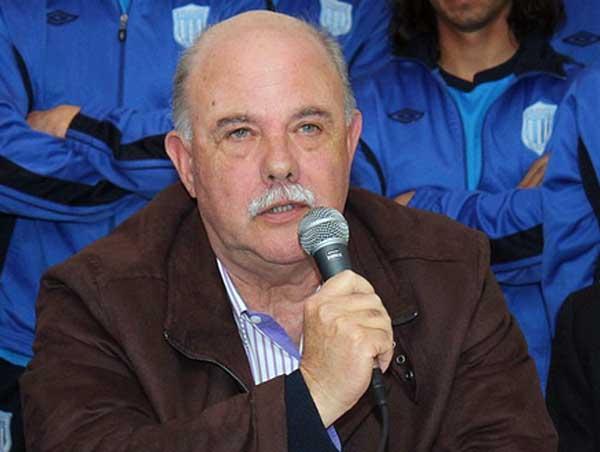 El presidente de la Liga Marplatense, Roberto Fernández.