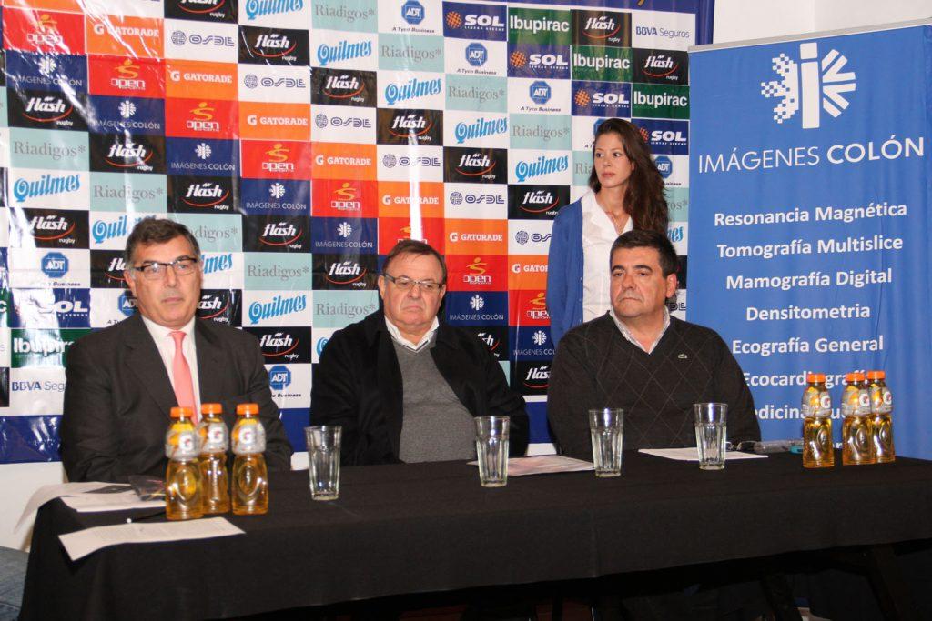 La presentación realizada esta tarde. (Foto: Prensa URMDP)