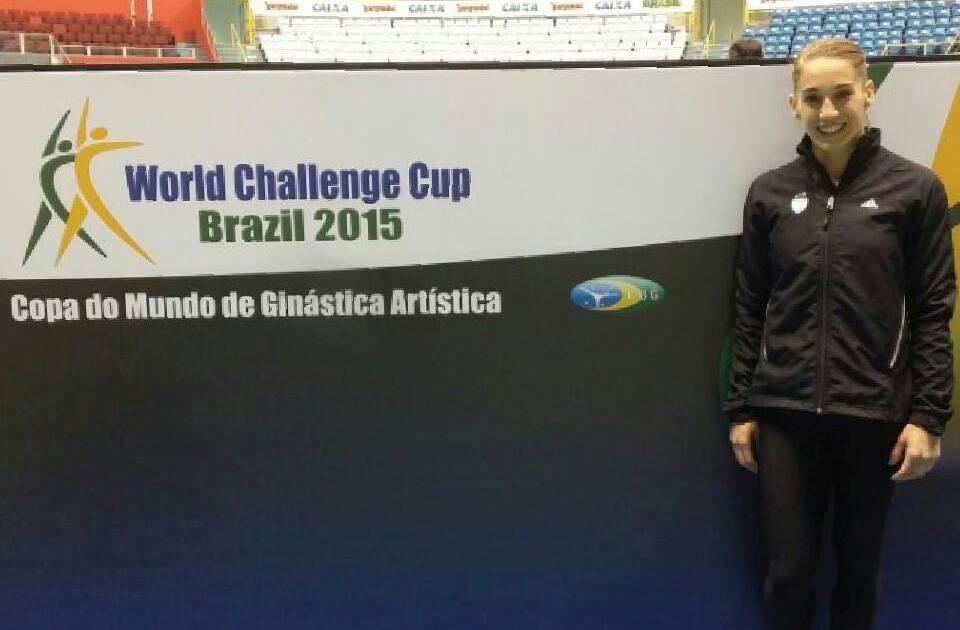 Ayelén Tarabini disputará tres finales en Brasil.