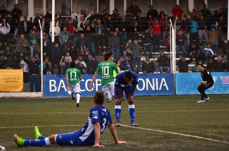 Alvarado empató 1 a 1 con Cipolletti (Foto: Matías Subat - RioNegro.com)
