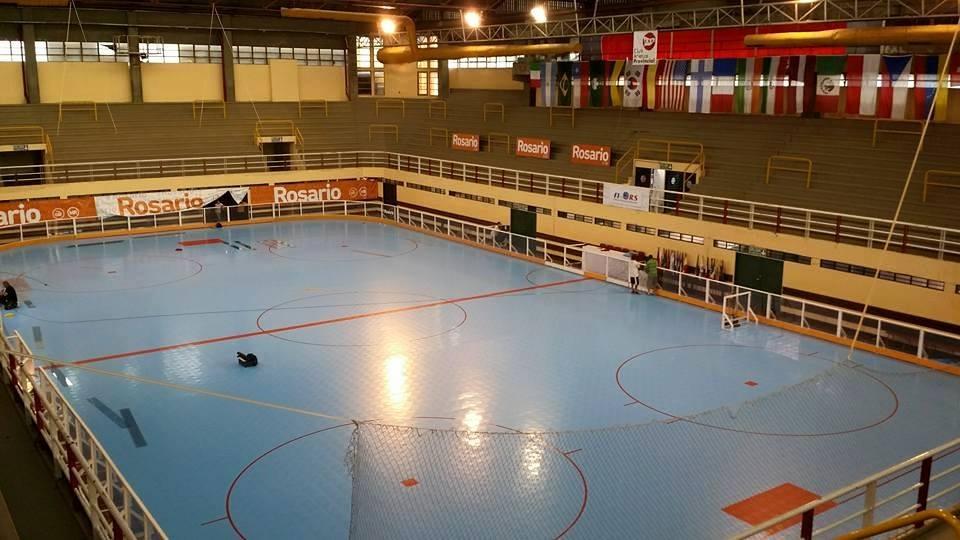 El escenario donde se disputará el Mundial de Rosario.