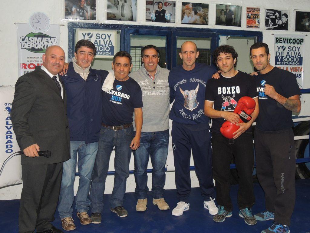 El Gimnasio del Club Alvarado realizó su exhibición.