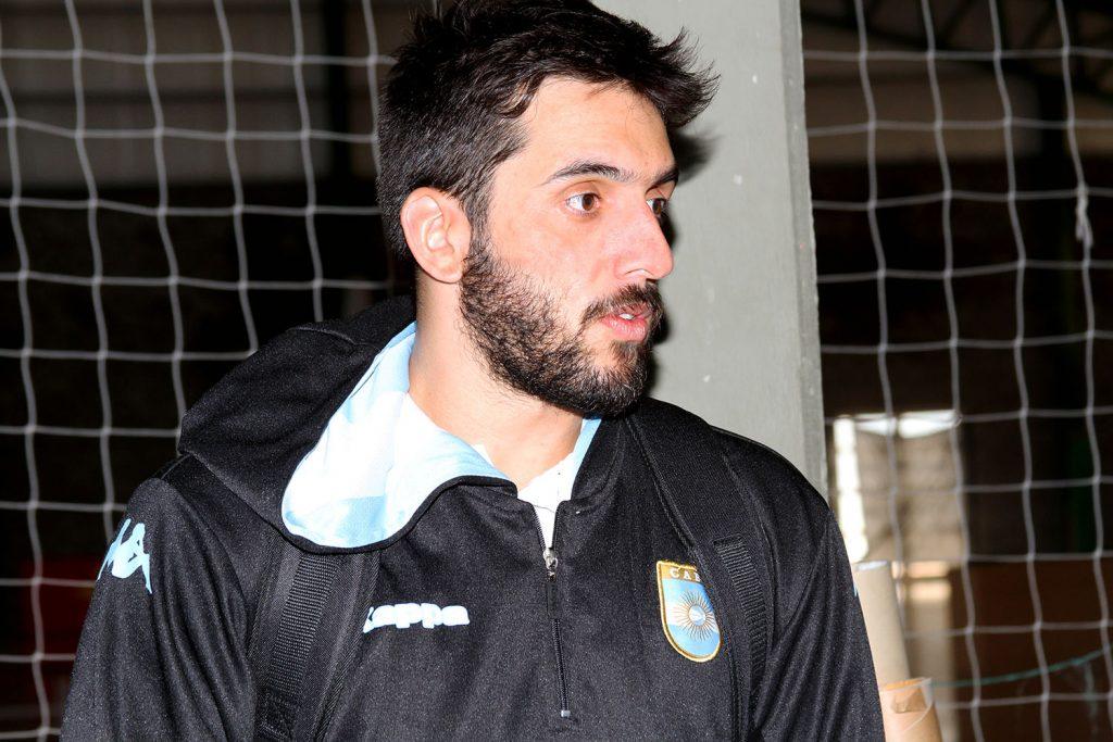 Facundo Campazzo empezó a entrenar con la Selección Argentina. (Foto: Carlos De Vita)