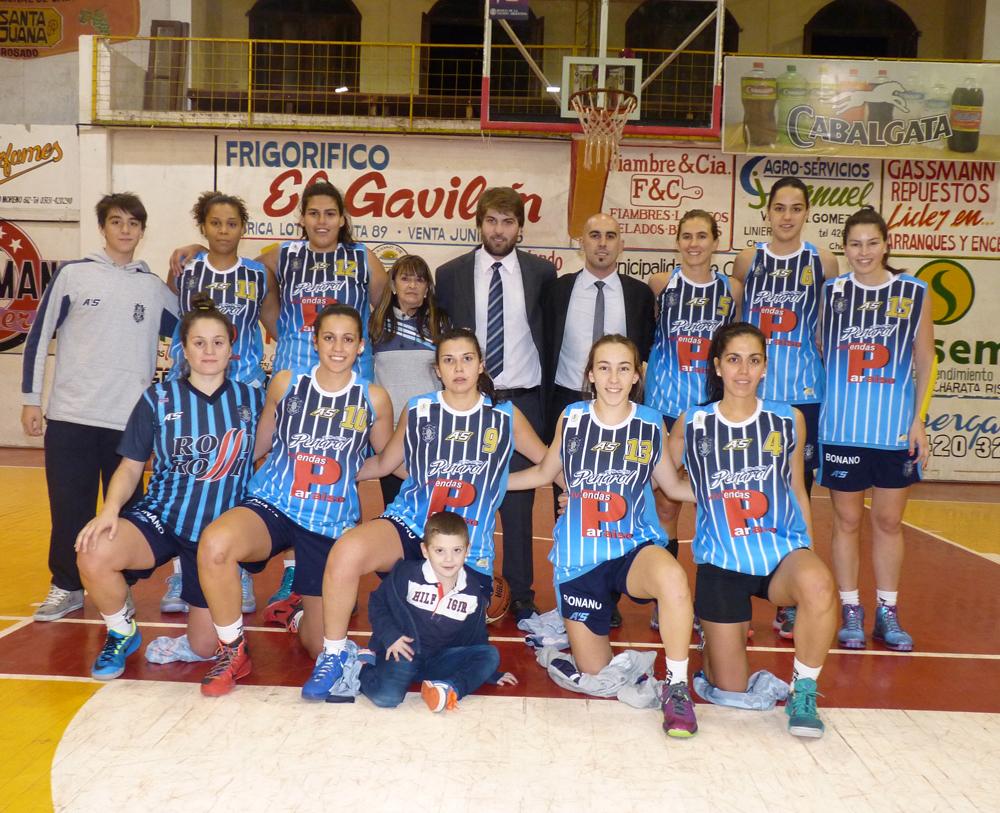 El equipo que jugó el Cuadrangular Semifinal en Charata.
