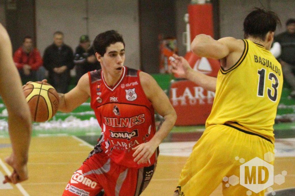 Luca Vildoza fue nuevamente goleador. (Foto: Carlos De Vita)