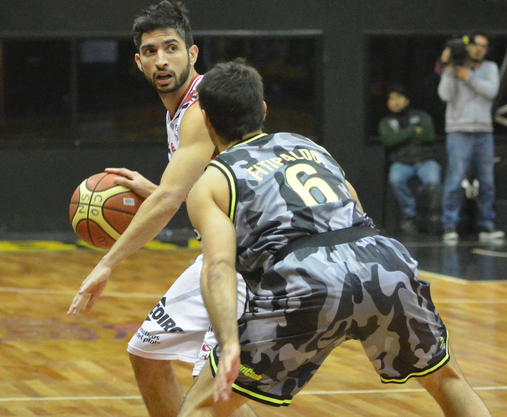 Luis Cequeira fue el jugador de la serie para Quilmes. (Foto: LNB.com.ar)