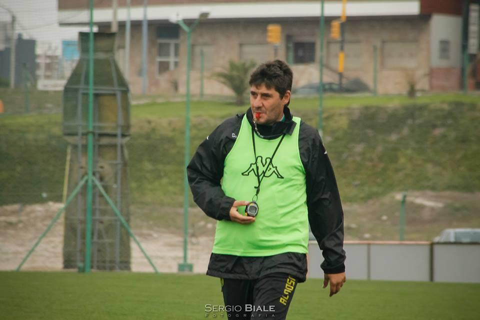 Fernando Quiroz volvió a trabajar con su equipo. (Foto: Archivo Sergio Biale)
