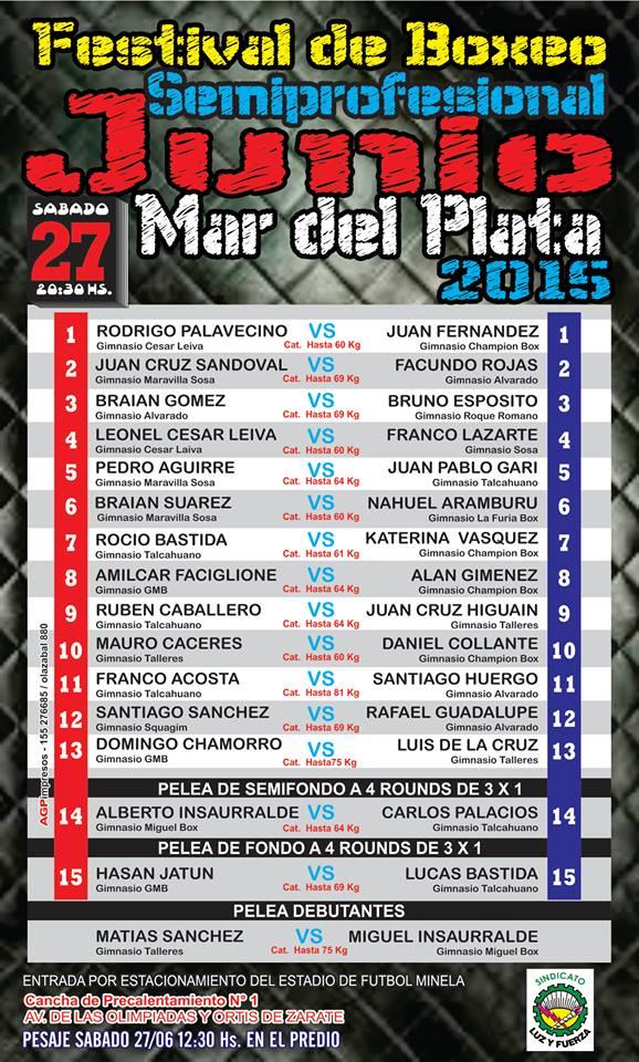 El boxeo amateur tendrá un sábado inolvidable.