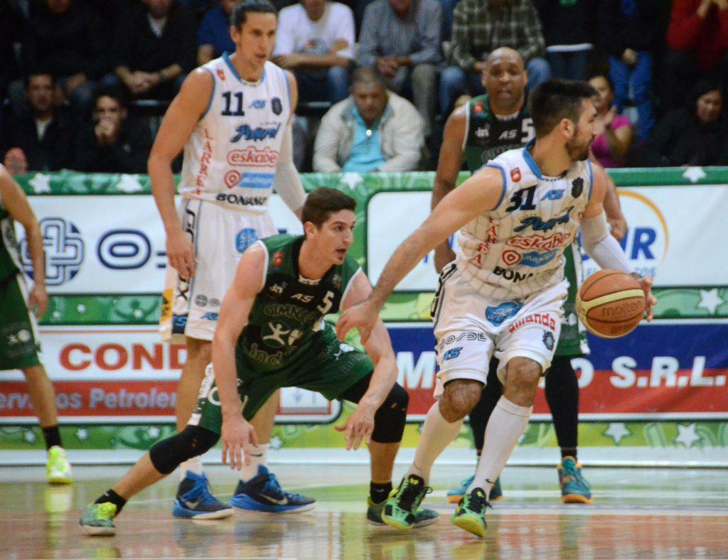 DETERMINANTE. Martin Osimani fue la figura de la noche con 32 puntos. (Foto: lnb.com.ar)