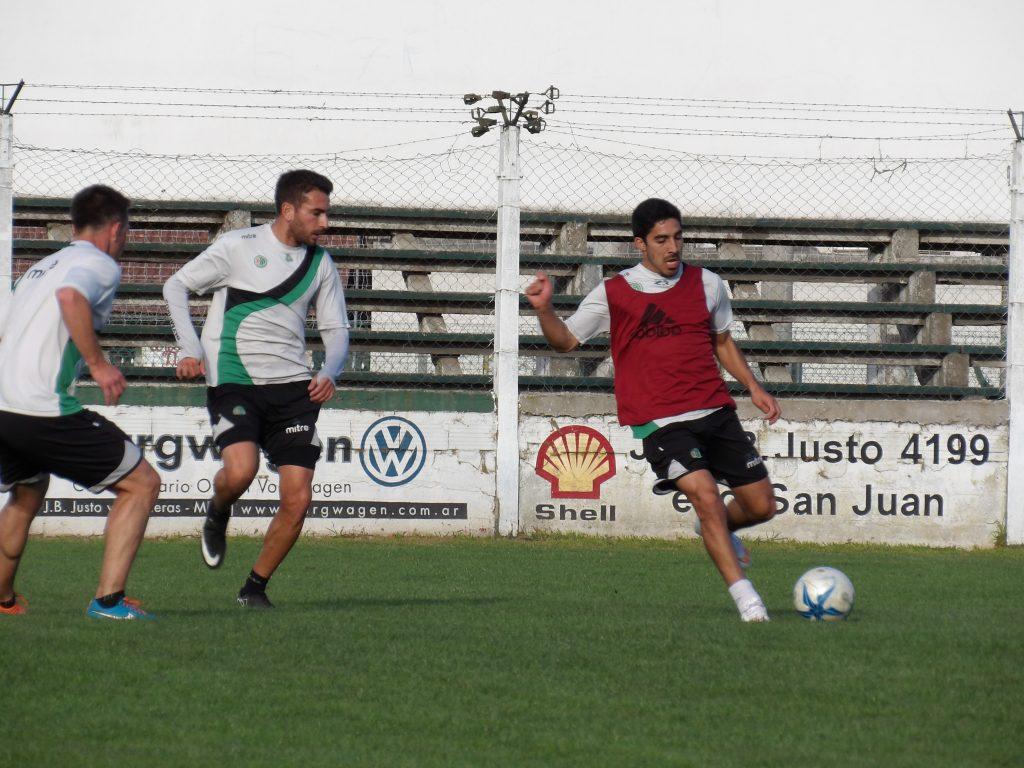 Kimberley realizó esta tarde una nueva práctica de fútbol.