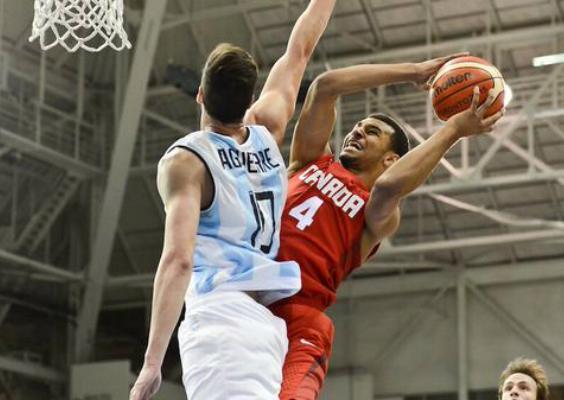 Argentina no pudo cerrar bien el juego ante Canadá. (Foto: FIBA)