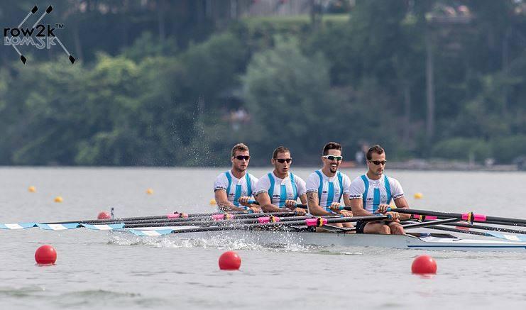 El Cuádruple argentino logró el bronce.