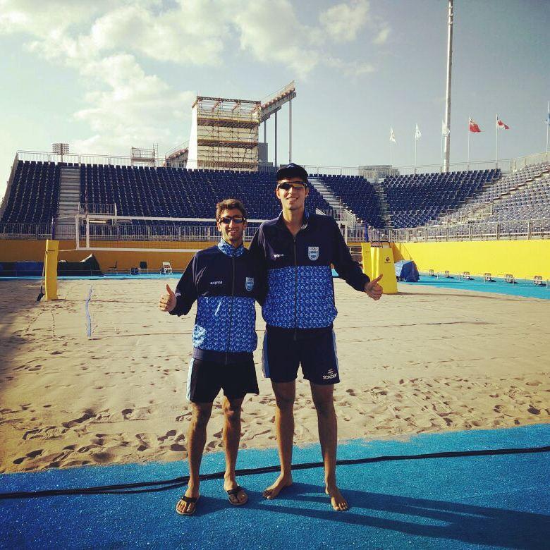 Ian Mehamed y Nicolás Capogrosso están en cuartos de final.