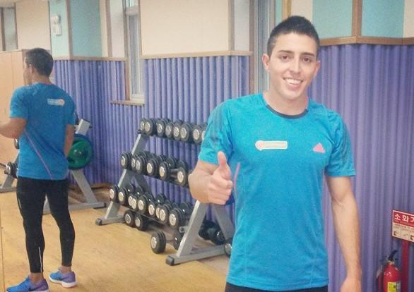 Caracassis fue el primero de los cuatro marplatenses en competir.