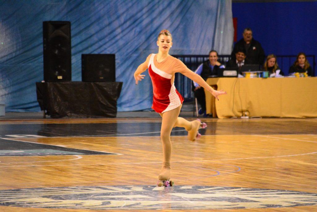 Luciana González ganó su categoría.