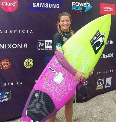 Josefina Ané quedó tercera entre las damas. (Foto: ASA facebook)