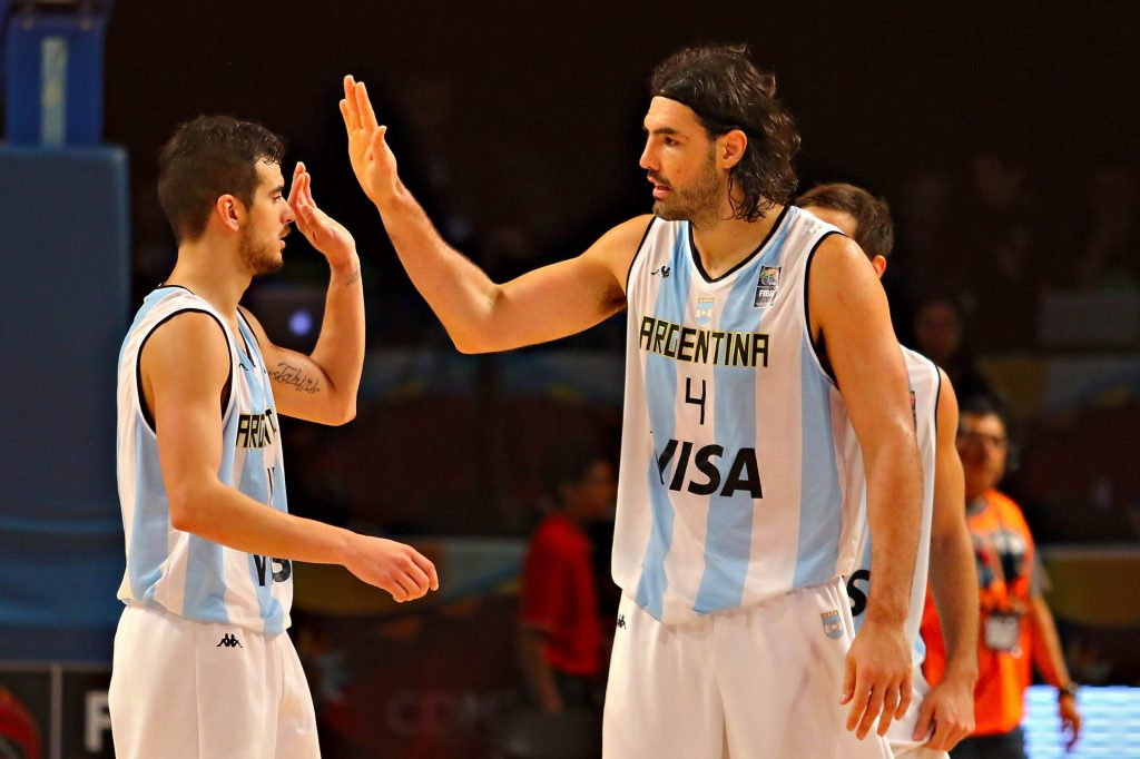 CIUDAD MEXICO, MEXICO - August 31, 2015- Argentina vs Puerto Rico game during the 2015 FIBA Americas Championship at the Palacio de los Deportes. (photo: Hugo Avila/FIBA Americas/Imago7)