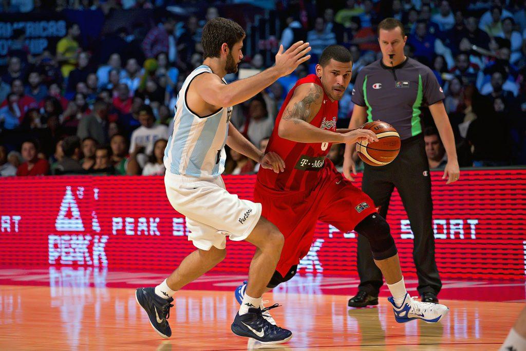 CIUDAD MEXICO, MEXICO - August 31, 2015- Argentina vs Puerto Rico game during the 2015 FIBA Americas Championship at the Palacio de los Deportes. (photo: Ernesto Pérez M./FIBA Americas/Imago7)