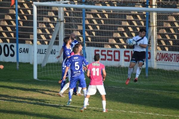 Aldo Suárez fue clave en el final del juego. (Foto: 9 de Julio de Morteros)