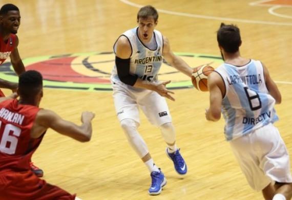 Andrés Nocioni fue una de las figuras del partido.