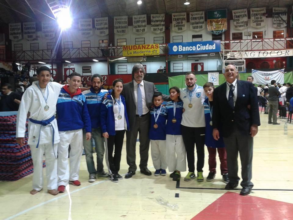 Los marplatenses medallistas en Córdoba.