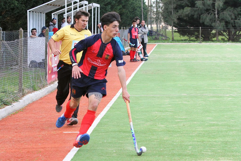 Lautaro Rodríguez anotó el primer gol del equipo marplatense. (Foto: Carlos De Vita)