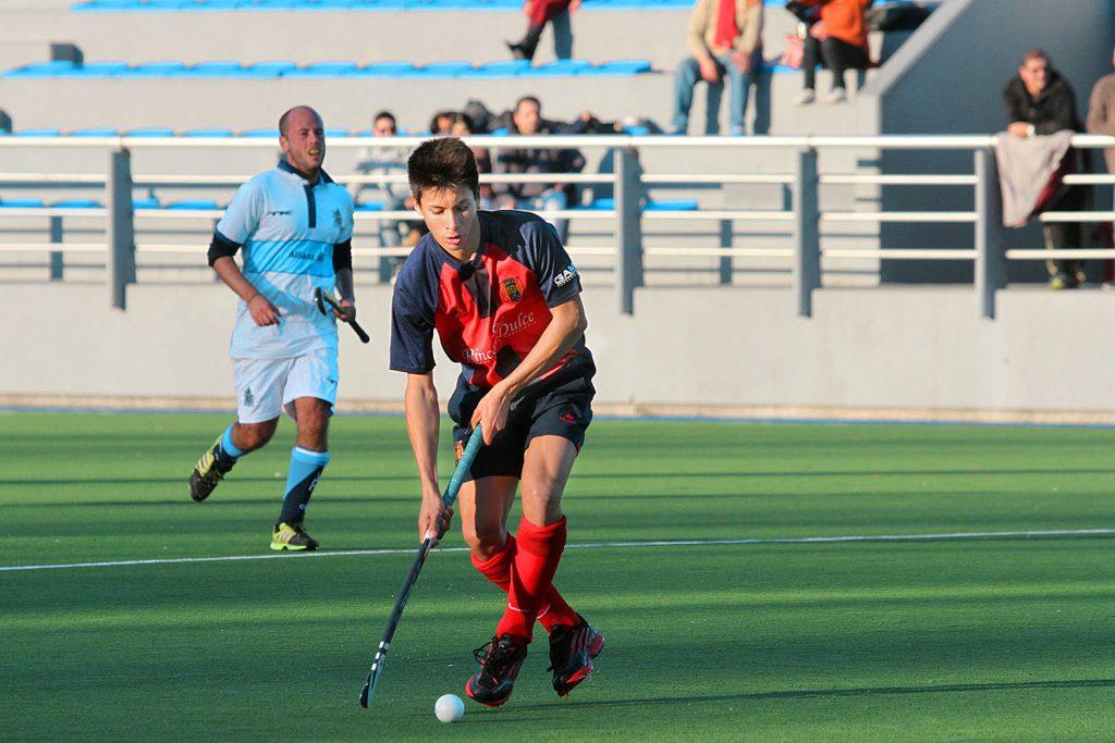 Miguel Becco, uno de los jugadores que alterna entre Intermedia y Primera constantemente. (Foto: Carlos De Vita)
