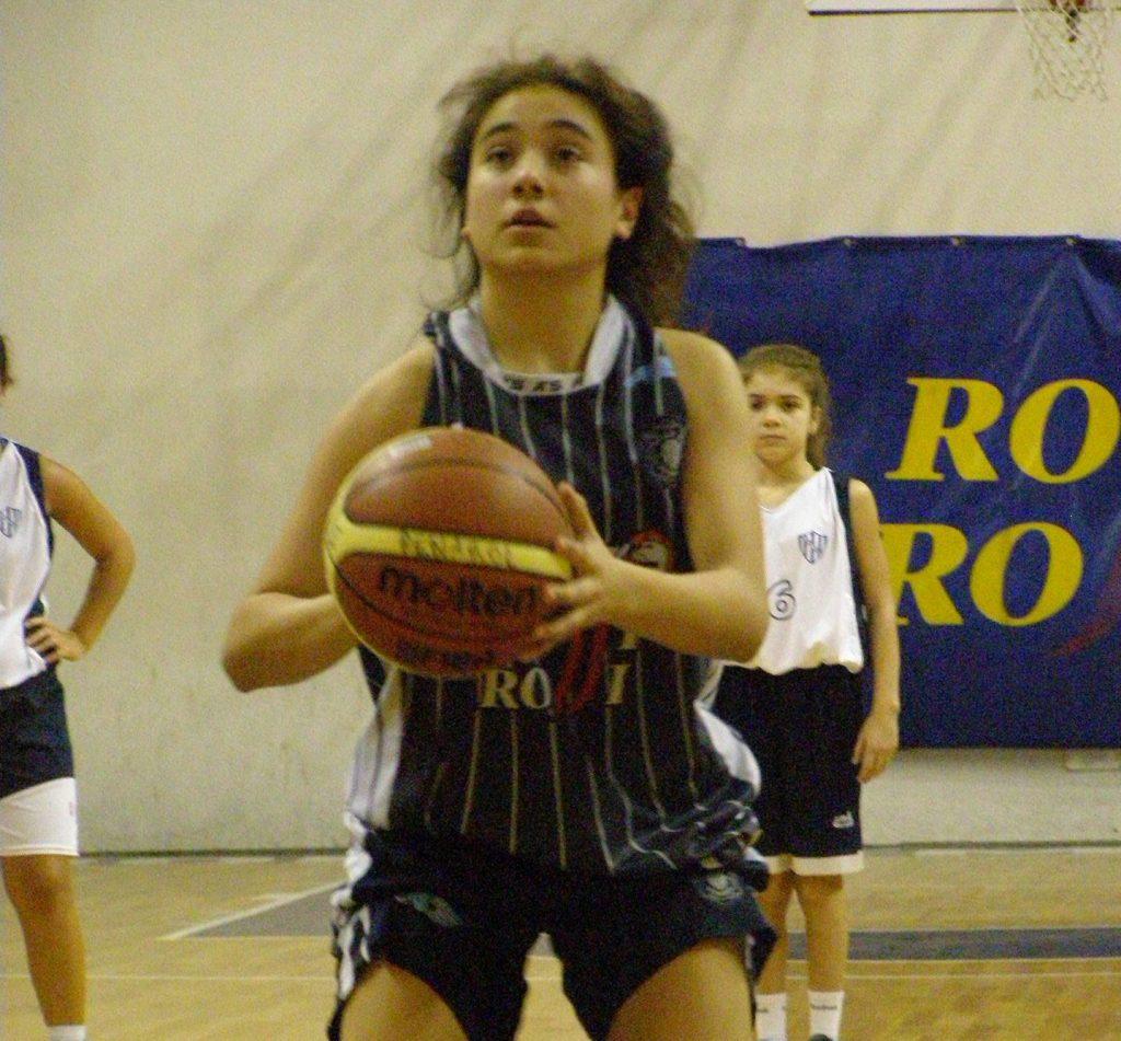 Rocío Bereilh está disputando el Sudamericano Sub-14. (Foto: Marcelo Lagana)