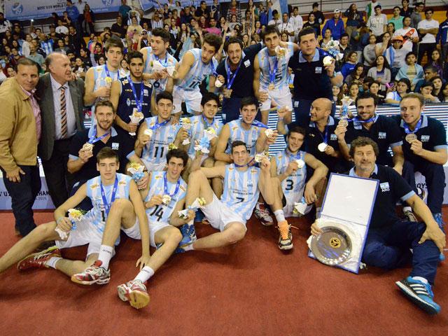 Los integrantes de la Selección U19 subcampeona del mundo.